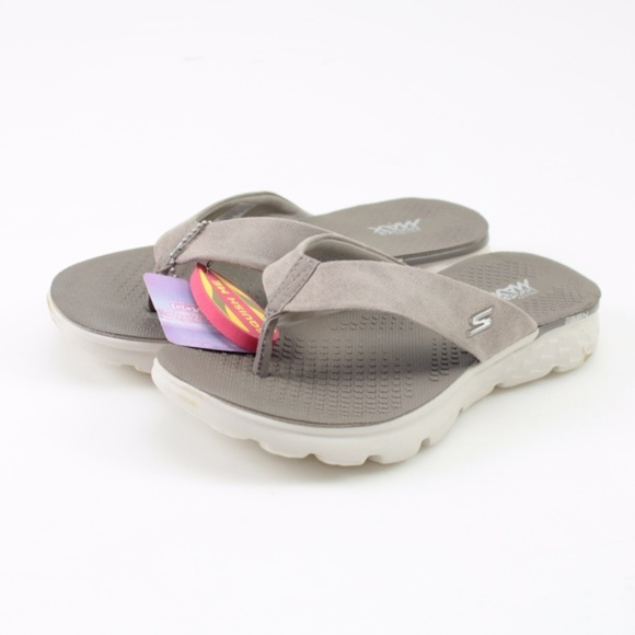 93d452febae7 Skechers On the GO 400 Essence Taupe Sandals    8